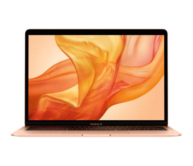 Apple MacBook Air i5/8GB/256/UHD 617/Mac OS Gold  - 506282 - zdjęcie
