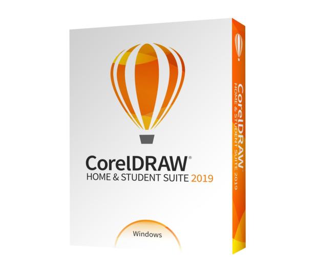 Corel CorelDRAW Home&Student 2019 PL - 505725 - zdjęcie