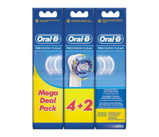 Oral-B Precision Clean EB20-4+2 - 506941 - zdjęcie