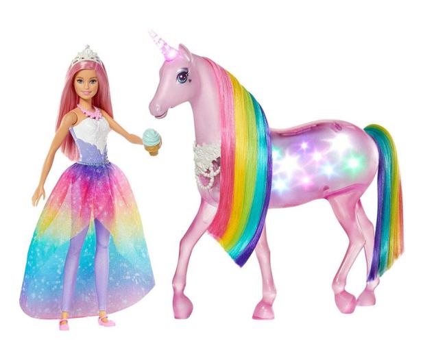 Barbie Jednorożec Magia Świateł  - 506780 - zdjęcie