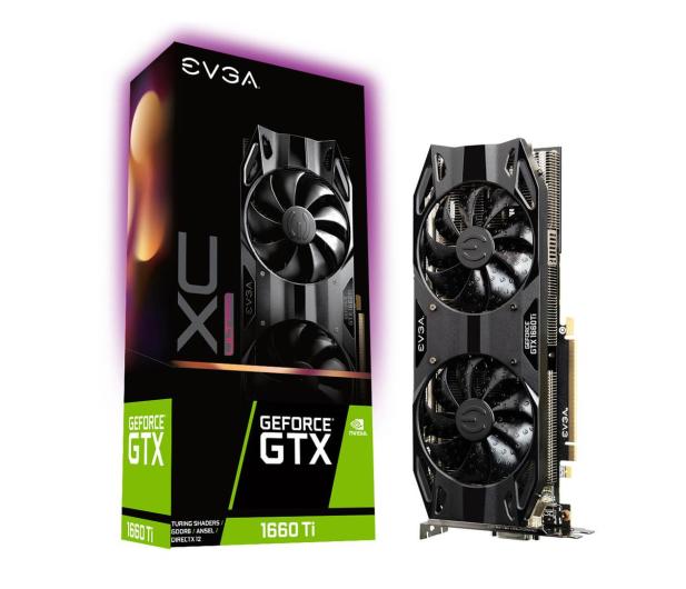 EVGA GeForce GTX 1660 Ti XC Ultra GAMING  6GB GDDR6 - 503599 - zdjęcie