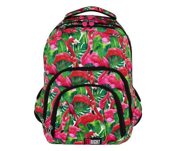 Majewski ST.Right Plecak szkolny Flamingo Green BP-25  - 421813 - zdjęcie