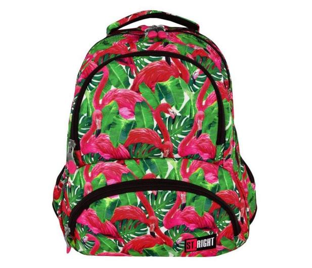 Majewski ST.Right Plecak szkolny Flamingo Green BP-07 - 412643 - zdjęcie