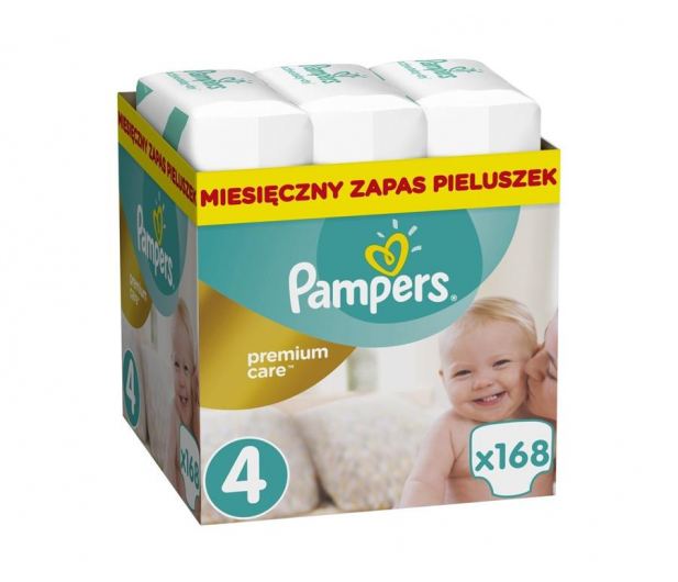 Pampers Premium Care 4 Maxi 8-14kg 168szt Zapas - 491555 - zdjęcie
