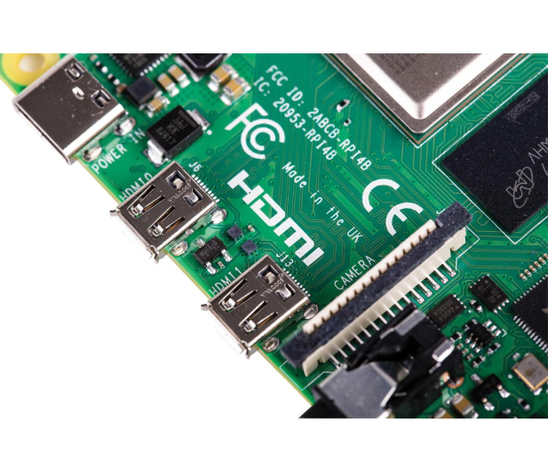 Raspberry Pi 4 model B WiFi DualBand Bluetooth 2GB RAM 1,5GHz - 507841 - zdjęcie 6