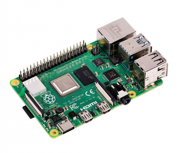 Raspberry Pi 4 model B WiFi DualBand Bluetooth 2GB RAM 1,5GHz - 507841 - zdjęcie