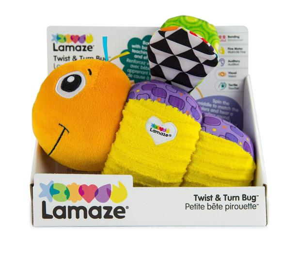 TOMY Lamaze kręcący się robaczek - 504790 - zdjęcie 3