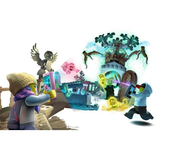 LEGO Hidden Side Tajemnicze cmentarzysko - 505550 - zdjęcie 3