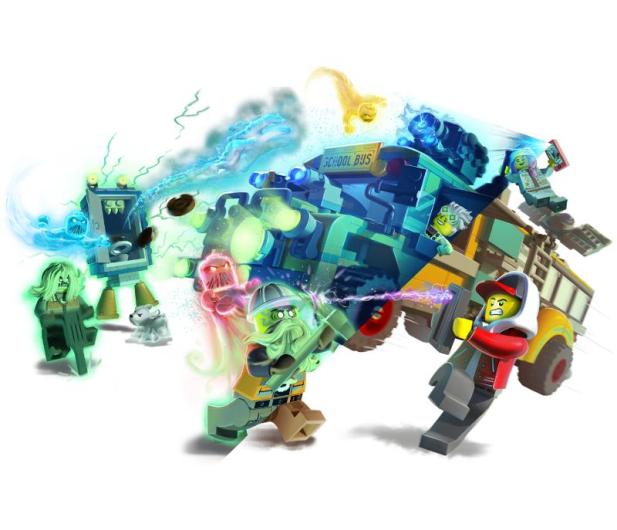 LEGO Hidden Side Autobus Duchozwalczacz 3000 - 505554 - zdjęcie 6