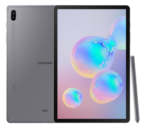 Samsung Galaxy TAB S6 10.5 T860 WiFi 6/128GB Mountain Gray - 507946 - zdjęcie