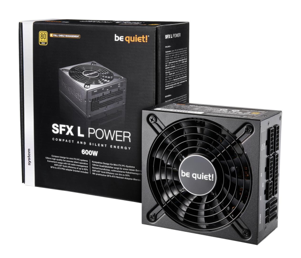 be quiet! SFX-L POWER 600W 80 Plus Gold - 509595 - zdjęcie
