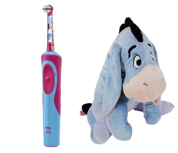 Oral-B D12 Kids Frozen + Kłapouchy  - 510741 - zdjęcie