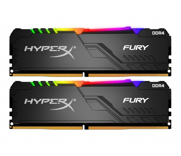 HyperX 16GB (2x8GB) 2666MHz CL16 Fury RGB - 507848 - zdjęcie