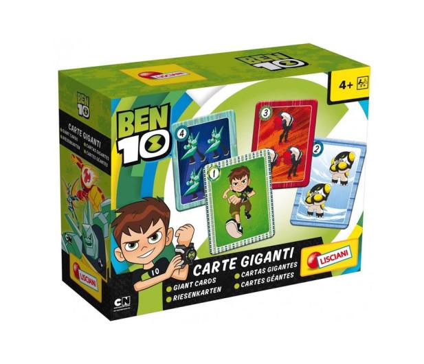 Lisciani Giochi Ben 10 Gigantyczne karty - 502097 - zdjęcie