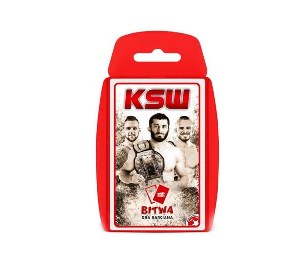 Winning Moves KSW Bitwa gra karciana - 476702 - zdjęcie