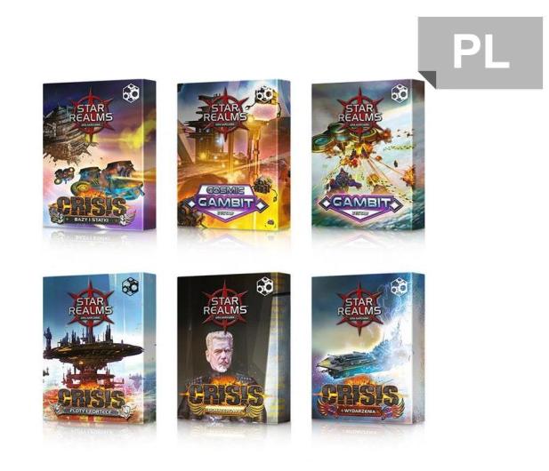 Games Factory Star Realms: Pakiet Gambit i Crisis - 423908 - zdjęcie