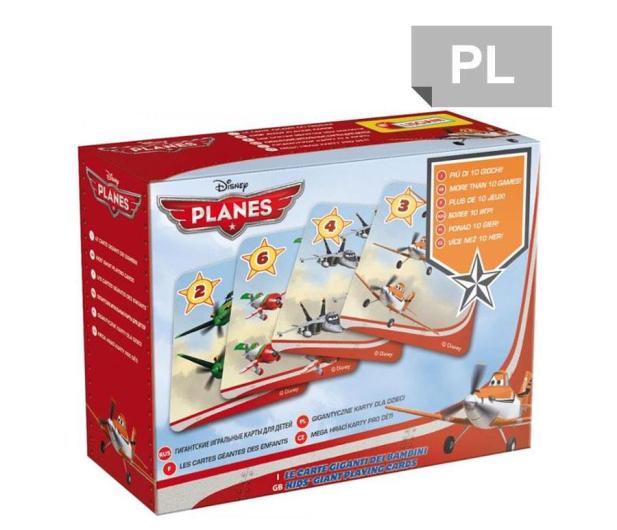 Lisciani Giochi Disney Karty do gry Samoloty - 417771 - zdjęcie