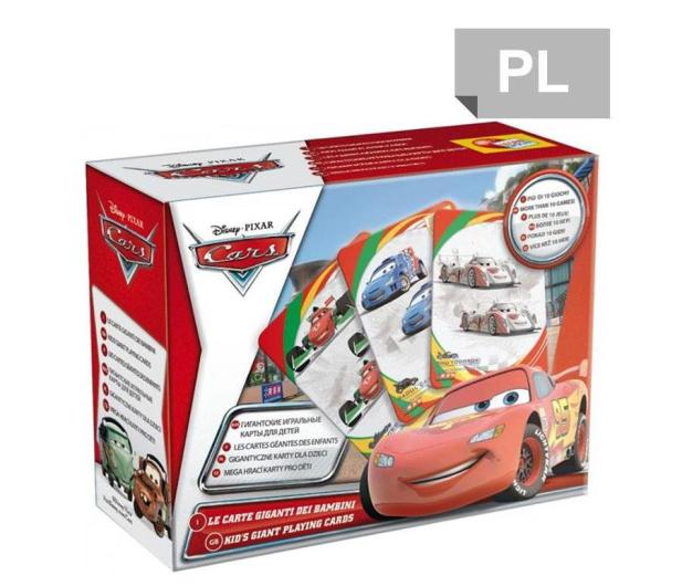 Lisciani Giochi Disney Karty do gry CARS 2 - 417766 - zdjęcie