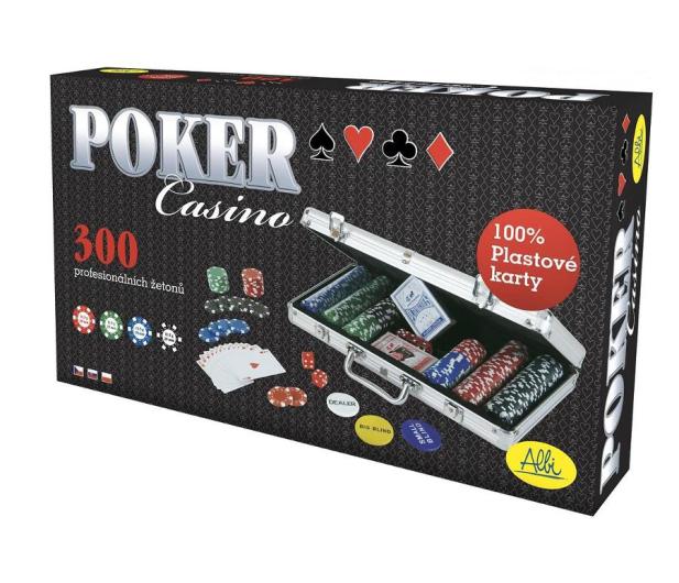 Albi Poker - 300 żetonów - 414703 - zdjęcie