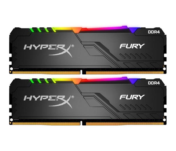 HyperX 16GB (2x8GB) 3600MHz CL17 Fury RGB - 546622 - zdjęcie