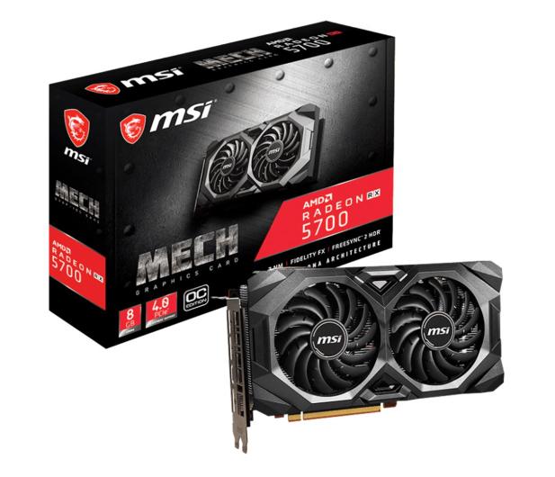 MSI Radeon RX 5700 MECH OC 8GB GDDR6 - 509702 - zdjęcie