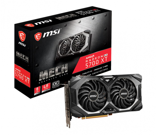 MSI Radeon RX 5700 XT MECH OC 8GB GDDR6 - 509704 - zdjęcie