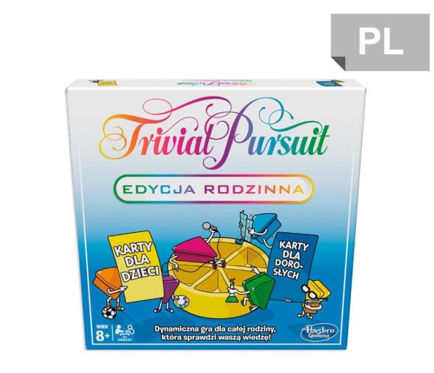 Hasbro Trivial Pursuit Edycja Rodzinna - 503935 - zdjęcie
