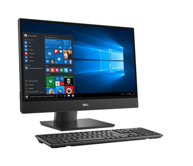 Dell OptiPlex 5270 AIO i5-9500/16GB/256/DVD/Win10P 21.5 - 507989 - zdjęcie