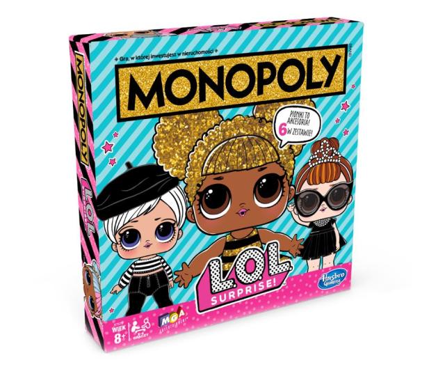 Hasbro Monopoly LOL - 511805 - zdjęcie