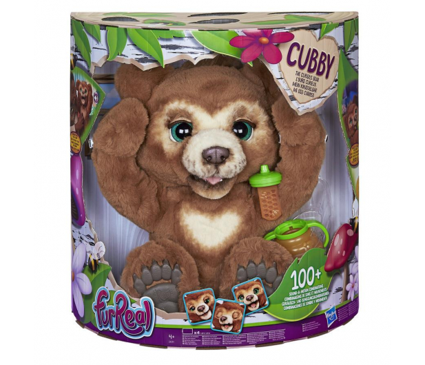 Furreal Friends Niedźwiadek Cubby - 511798 - zdjęcie 6