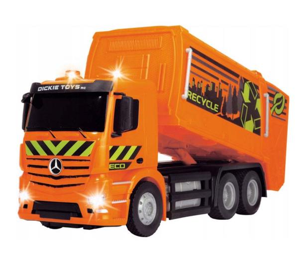 Dickie Toys Śmieciarka MB Antos - 407679 - zdjęcie