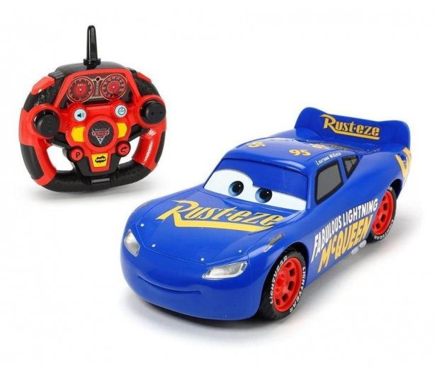 Simba Disney Cars 3 RC Fabulous Lightning McQueen - 396105 - zdjęcie