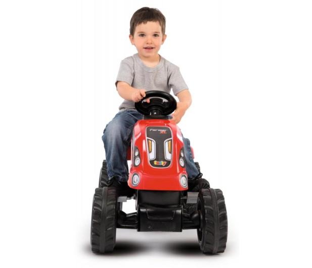 Smoby Traktor XL czerwony - 415932 - zdjęcie 5