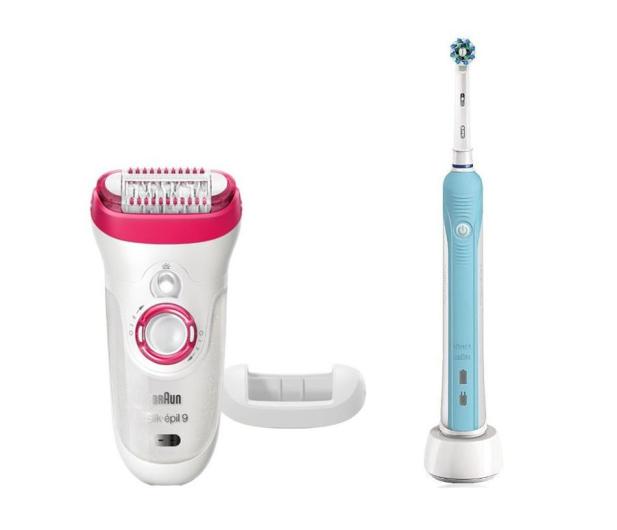 Braun Silk-épil 9-521 + Oral-B Pro 500 - 458131 - zdjęcie