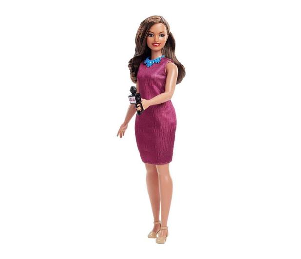 Barbie Kariera 60 urodziny Lalka Reporterka - 471408 - zdjęcie