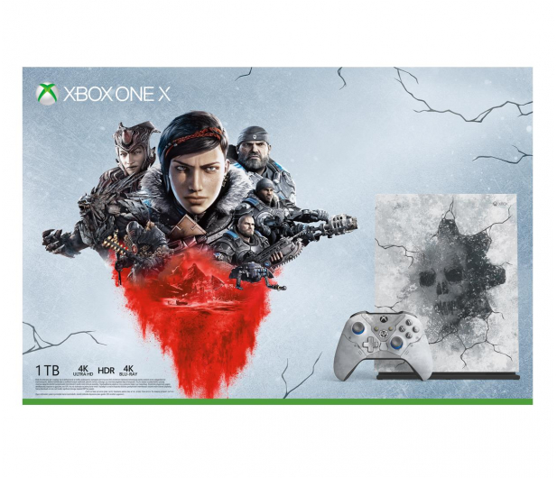 Microsoft Xbox One X 1TB Limited Ed. + GoW 5 - 512344 - zdjęcie 7