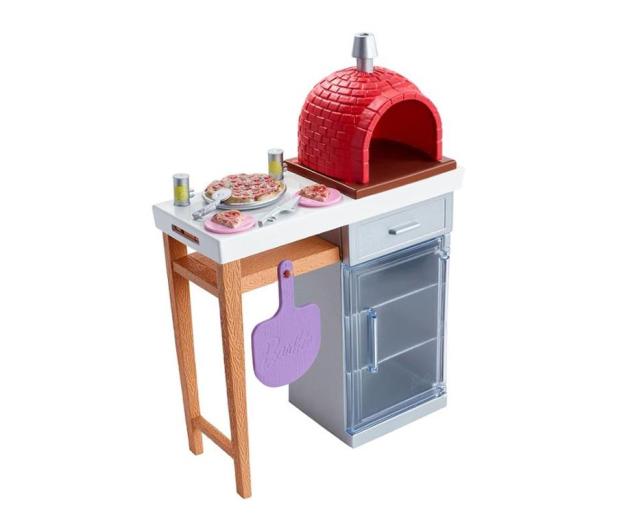 Barbie Mebelki ogrodowe Zestaw Do Pizzy - 471425 - zdjęcie