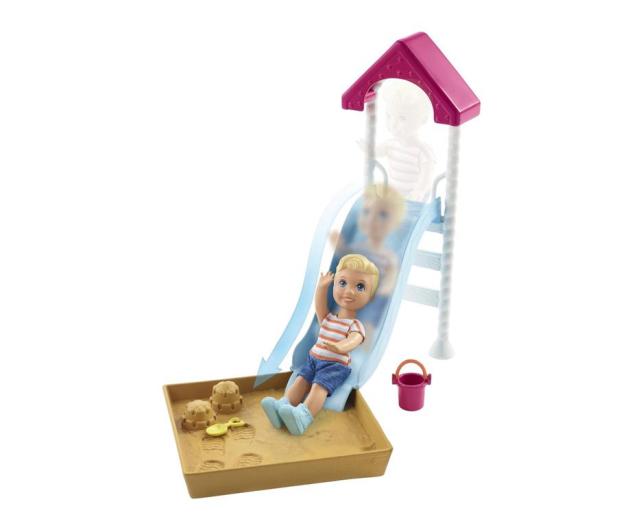 Barbie Skipper Akcesoria Spacerowe Piaskownica - 476434 - zdjęcie