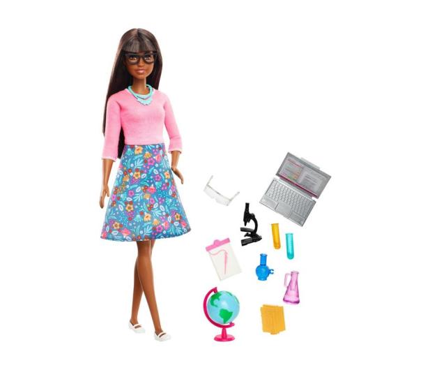 Barbie Nauczycielka Lalka + akcesoria - 471328 - zdjęcie