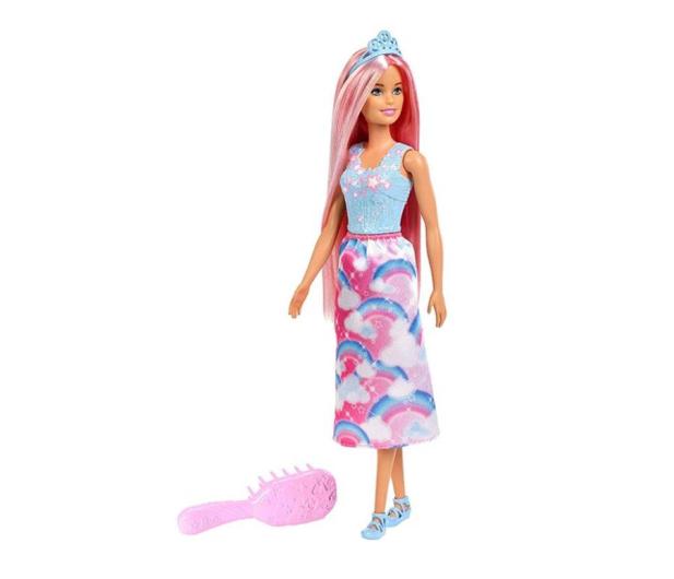 Barbie Fairytale Lalka Księżniczka do czesania  - 471281 - zdjęcie