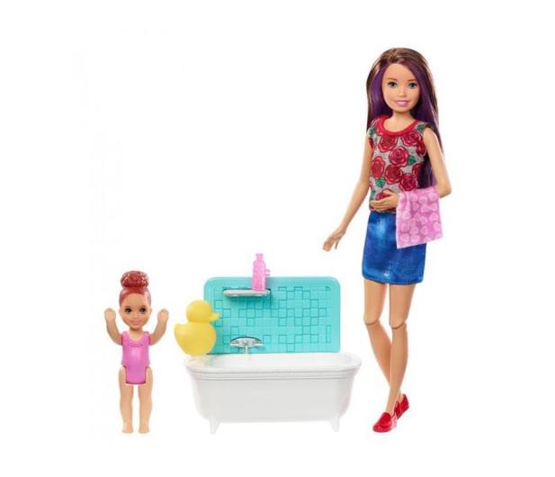 Barbie Skipper Zestaw Opiekunka z wanną - 476753 - zdjęcie