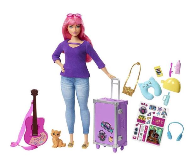 Barbie Lalka Daisy w podróży - 471316 - zdjęcie