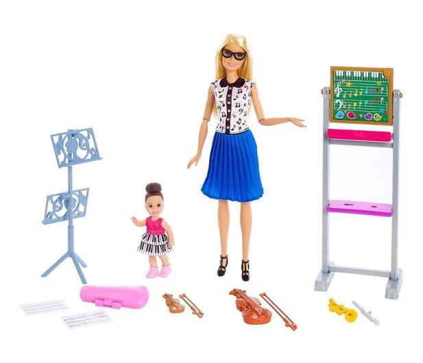 Barbie Kariera Nauczycielka Muzyki Zestaw - 488469 - zdjęcie