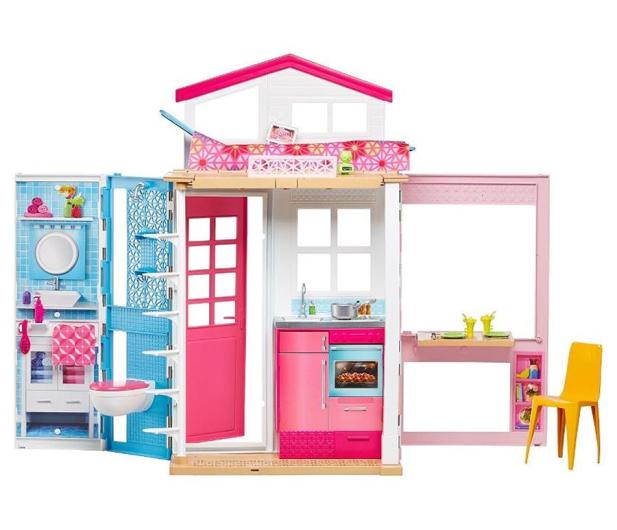 Barbie Dwupoziomowy Domek dla lalek - 401602 - zdjęcie