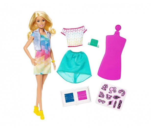 Barbie Crayola Kolorowe Stemple - 503944 - zdjęcie