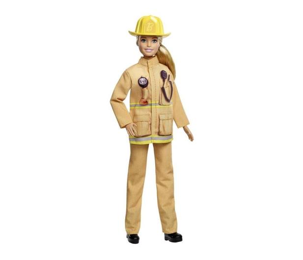 Barbie Kariera 60 urodziny Lalka Strażak - 471411 - zdjęcie