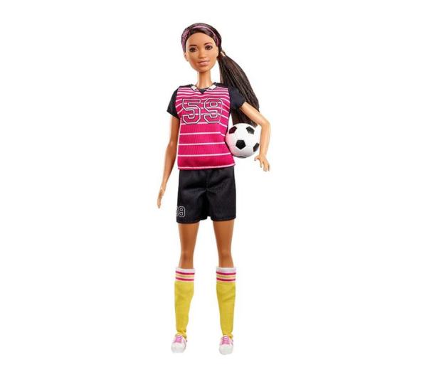 Barbie Kariera 60 urodziny Lalka Piłkarka - 471409 - zdjęcie