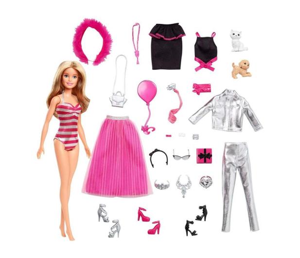 Barbie Kalendarz Adwentowy  - 512698 - zdjęcie