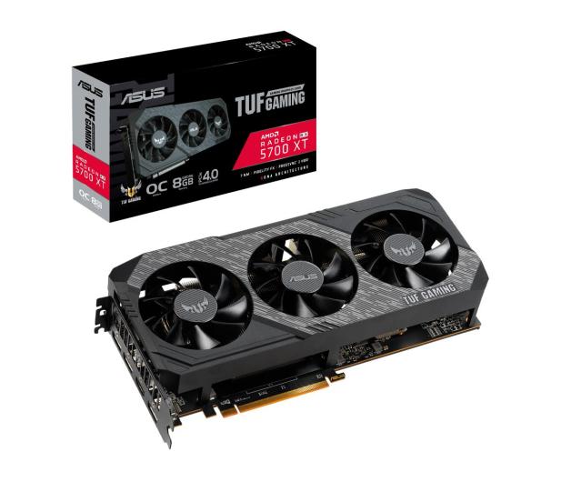 ASUS Radeon RX 5700 XT TUF OC 8GB GDDR6  - 513336 - zdjęcie