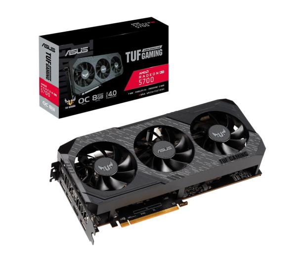 ASUS Radeon RX 5700 TUF OC 8GB GDDR6  - 513338 - zdjęcie